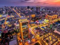 柬埔寨首都、商业、文化和经济中心——金边市
