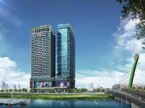 [Commercial and Residential Office] Diamond Island's first 100-meter double-star building, a national gateway, a world-class landmark