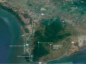 Land for sale 4375sqm -Kep Province