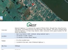 Land for Sale Along NR1