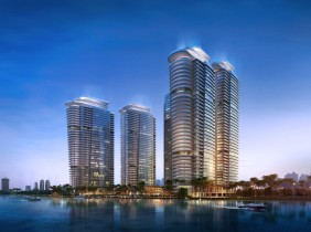 Morgan Tianyu Residence first-line river view hot sale! !