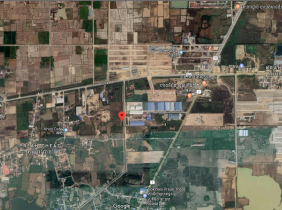 Junction of Hun Sen Avenue and Road No. 2 on the roadside land for sale $557550