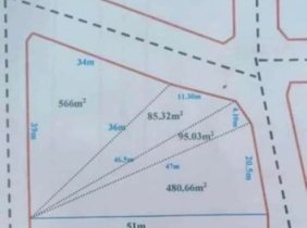 Land for Sale, in front of Phnom Penh international Airport  / $1241460