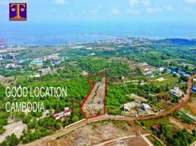 西哈努克城(Sihanoukville Krong Preah)西哈努克土地出售$ 800 /㎡