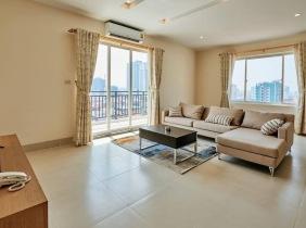 Phnom Penh Chamkarmon 2Rooms Apartment For rent Price1300$/Month