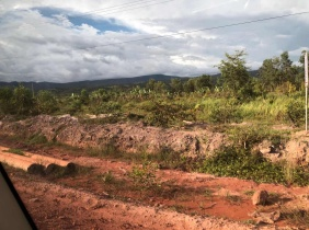 Koh Kong near Highway 4 land for sale , 15 hectares, 14$/flat, convenient transportation, great location