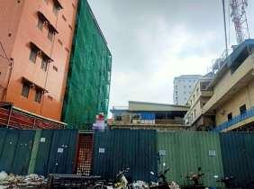 Phnom Penh Doeurm Kor Market land for sale Freehold 475㎡  , 2.4 million yuan, excellent location