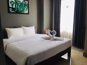 [100% true] Good location near commercial district and supermarket in Sangyuan District, Phnom Penh, convenient for renting exquisite one bedroom and