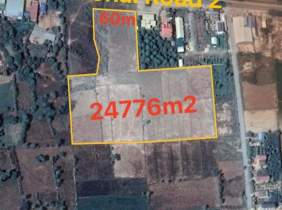 National road number 2 Land for sale at Kandal​ Stueng Hard 24776m² 6194000$