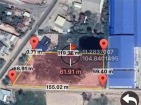 土地出售,周围都是工厂开发地段,适合盖工厂好招聘工人,
