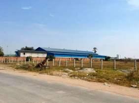 【100%实拍】金边市 森速区 近永旺3和泰国大超市 位置佳 出入方便 适合投资创业 土地出售 $3500000