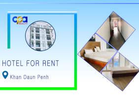 Hotel for rent in Khan Daun Penh, near Sorya shopping mall