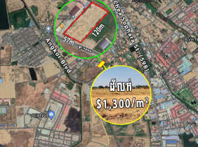 Land for sale, near Camko City