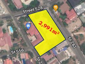 Land for lease in Sangkat Boeung Kak I, Khan Toul Kork