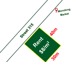 Land and Building for Rent along street 315, Toul Kork