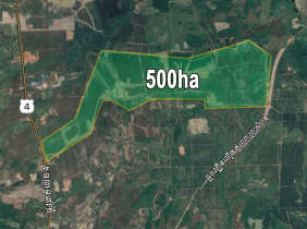 Land for Sale, National Road 4, Km147