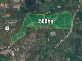 土地出售,国道4号,Km147