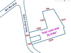 Land for sale along Hanoi Blvd(1019)