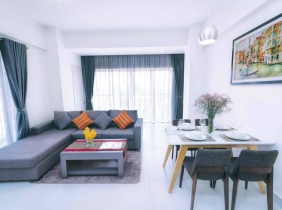 Apartment For rent Boeung Kak Ti Muoy 2Rooms  1300$/Month