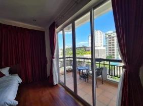 Apartment for rent in Wanjinggang District 1, Sangyuan District, Phnom Penh (BKK1) 1 bedroom 30m² 300$/month