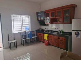 [Road 2 New World Terrace House for sale] 4 bedrooms next to Highway 2 G+2 floor furniture and appliances complete brand new unoccupied $98000