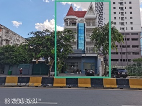 Sale of 6-bedroom 139㎡ in Wanjinggang 1st District (BKK1), Sangyuan District, Phnom Penh City $1550000
