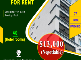 Building for rent in Olympic Stadium Area