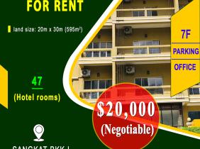 Hotel for rent in Boeung Keng Kang I