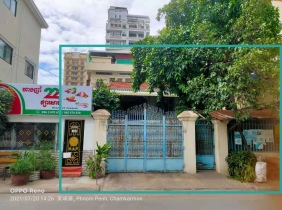 Sale of freehold property rights of 375㎡ of  Tuol Tumpong Ti 2 District, Sangyuan District, Phnom Penh $1850000