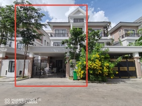 Well-known residential villa for rent Phnom Penh City, 4 bedrooms 200㎡ $1500