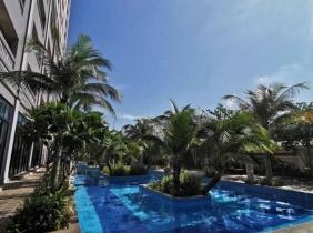 金边市皇宫和Naga world 附近单间,1房和2房公寓出租!交通便利,位置绝佳,24小时保安,住的舒服。
