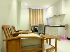 Beautiful Spacious 1 Bedroom Apartment for Rent in Cosmopolitan, BKK2, Chamkamon district, Phnom Penh City.