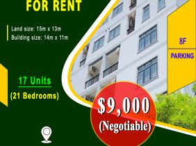 Building for Rent in Sangkat Toul Tompung  area