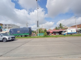 2400㎡ land for rent ($6000/month) in Sensok District, Phnom Penh Thmey, Cambodia, with excellent location and convenient transportation.