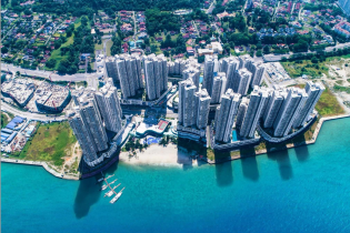马来西亚高级公寓在售  碧桂园金海湾