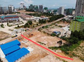 Land for rent in Sihanoukville, Sihanoukville: 450 $ / month